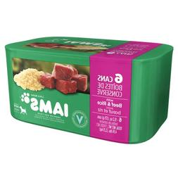IAMS ProActive Health Classic Pate with Beef & Rice Adult We