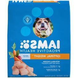IAMS PROACTIVE HEALTH Adult Optimal Weight Dry Dog Food 29.1