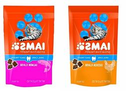 Iams ProActive Health Oral Care Daily Cat Treats Variety Bun