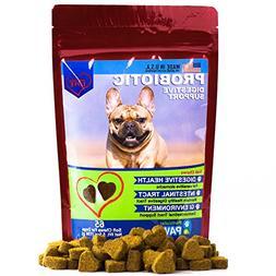 Probiotics for Dogs - Treats - for Digestion, Diarrhea Relie