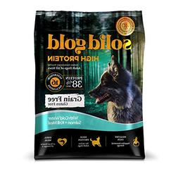 Solid Gold High Protein Dry Dog Food; Grain-Free with Real S