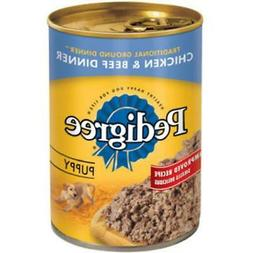 Pedigree Puppy Chopped Ground Dinner with Chicken and Beef C