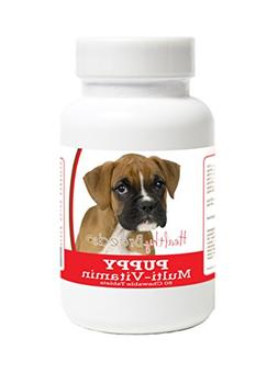 Healthy Breeds Puppy Food Supplement for Boxer - Over 100 Br