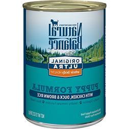 Natural Balance Puppy Formula Canned Wet Dog Food, Original