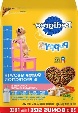 Pedigree Puppy Growth & Protection Chicken & Vegetable Flavo
