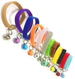 Puppy ID Bands Collars Adjustable & Reusable Double Side Sof