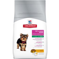 Hill's Science Diet Puppy Small & Toy Breed Dry Dog Food 4.5