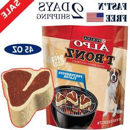 Purina ALPO T-Bonz Brand Dog Treat 45 oz Steak Dog Snacks Do