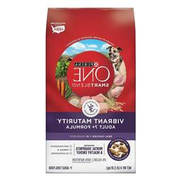 Purina ONE SmartBlend Vibrant Maturity Adult 7+ Formula Dry