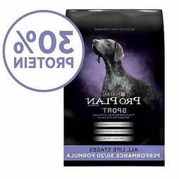 Purina Pro Plan Sport Dog Food - Chicken -37.5 LBS high Stag