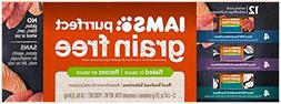 Iams Purrfect Grain Free Flaked In Sauce Variety Pack Canned