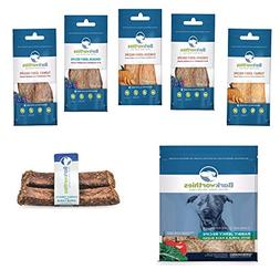 Barkworthies All Natural Rabbit Dog Jerky with Superfood Dog
