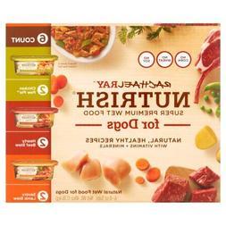 Rachael Ray Nutrish Natural Wet Dog Food, Variety Pack, Grai