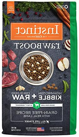 Instinct Raw Boost Grain Free Recipe with Real Lamb Natural