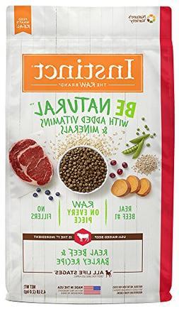 Instinct Be Natural Real Beef & Barley Recipe Natural Dry Do