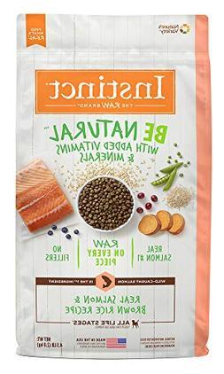 Instinct Be Natural Real Salmon & Brown Rice Recipe Natural