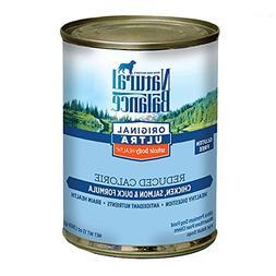 Natural Balance Reduced Calorie Formula Dog Food, 13.2 oz