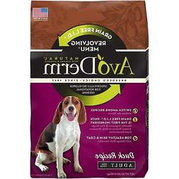 Avoderm Revolving Menu Grain Free Adult Dry Dog Food, Real D