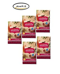 PACK OF 5 - Rachael Ray Nutrish Natural Dry Dog Food, Real B
