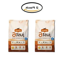 PACK OF 2 - Rachael Ray Nutrish Just 6 Natural Dry Dog Food,