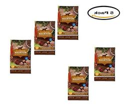 PACK OF 5 - Rachael Ray Nutrish Natural Dry Dog Food, Turkey
