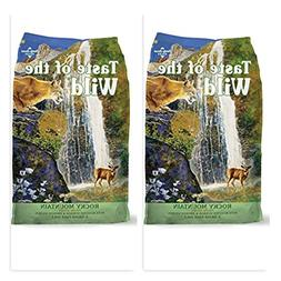Taste of the Wild  Rocky Mountain Dry Cat Food,  - 5 lb Bags