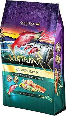 Zignature Salmon Formula Dry Dog Food 27 Pounds Made from Sa
