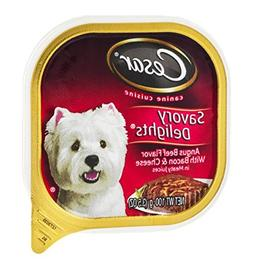 CESAR 24-Pack Savory Delights Canine Cuisine Angus Beef with