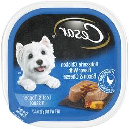 CESAR SAVORY DELIGHTS Wet Dog Food Rotisserie Chicken Flavor