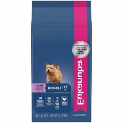 Eukanuba Senior Dry Dog Food, Chicken - Small Breed, Lamb &