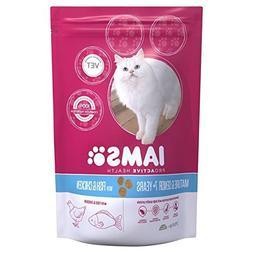 Iams Senior & Mature Dry Cat Food Ocean Fish 700g