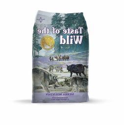 Taste of the Wild Sierra Mountain Grain-Free Dry Dog Food 28