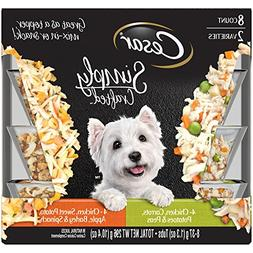 Cesar Simply Crafted Adult Wet Dog Food Cuisine Complement V