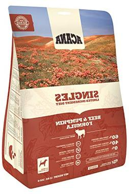 ACANA Singles Beef and Pumpkin Formula Dry Dog Food 12 Ounce