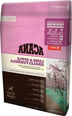 Acana Singles Formula - Lamb and Apple Dog Food 4.5lbs