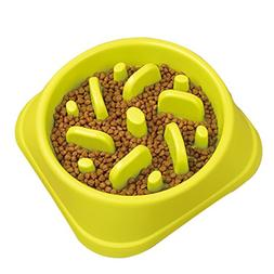STARUBY Slow Feeder Dog Bowl, Slow Feed Dog Bowl Dog Food Bo