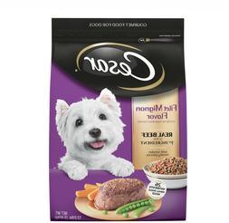 CESAR Small Breed Dry Dog Food Filet Mignon Flavor with Spri