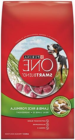 Purina ONE SmartBlend Dry Dog Food, Lamb & Rice Formula -  8