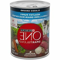 Purina ONE SmartBlend Natural Puppy Dog Food  13 oz. Cans
