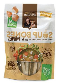 Rachael Ray Nutrish Soup Bones Minis Dog Treats, Real Chicke