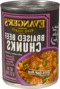Evanger's Super Premium For Dogs Braised Beef Chunks with Gr