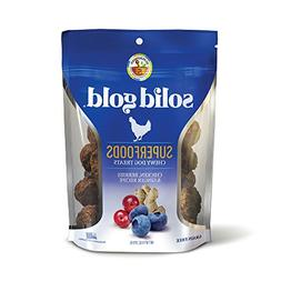 Solid Gold Superfood Dog Treats; Grain Free Chicken, Berries
