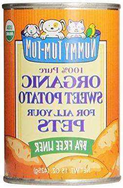 Nummy Tum Tum Pure Sweet Potato for Pets, 15 Ounce