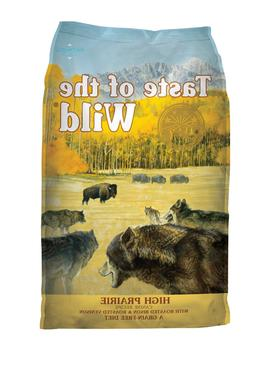 Taste of the Wild High Prairie Grain-Free Dry Dog Food 28 lb