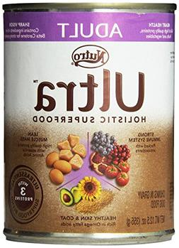Ultra Adult Chunks in Gravy Canned Dog Food, 12.5-Ounce, Pac