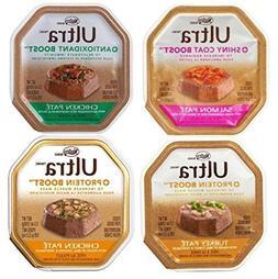 Nutro Ultra Dog Food 4 Flavor 8 Can Bundle:  Ultra Shiny Coa