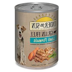 CANIDAE Under The Sun Grain Free Dog Wet Food Lamb Formula,