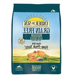 CANIDAE Under The Sun Grain Free Indoor Cat Food with Chicke