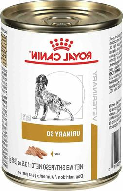 Royal Canin Urinary SO Dog Wet Food 12 cans