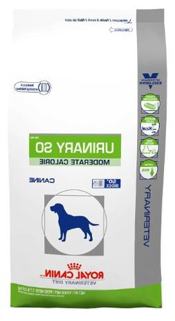 Royal Canin Urinary SO Moderate Calorie Dry Dog Food 7.7 lb